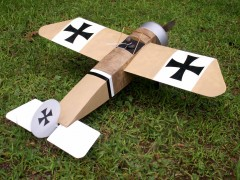 Hergt Monoplane model airplane plan