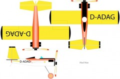 Mad Max model airplane plan
