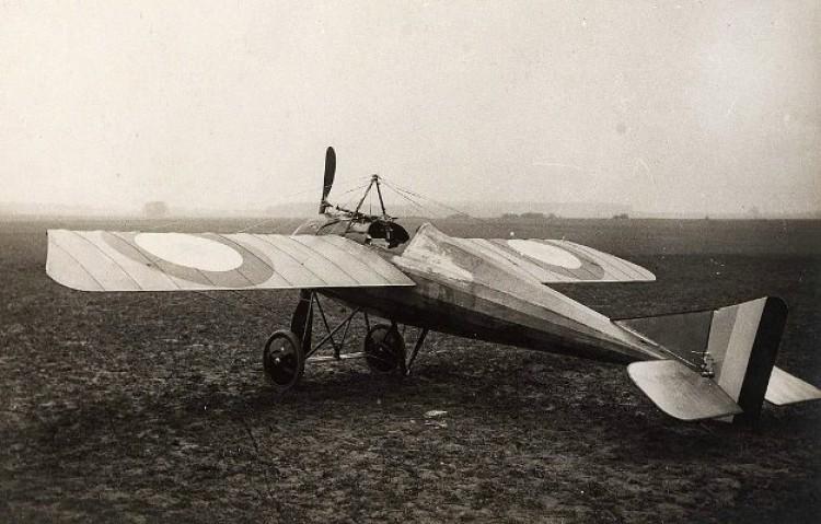 Morane Scout model airplane plan