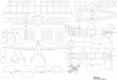 Pionero model airplane plan