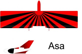 Asa model airplane plan