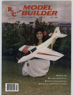 MB-1980-07-JUL model airplane plan