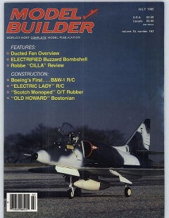 MB-1985-07-JUL model airplane plan