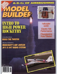 MB-1992-06-JUN model airplane plan