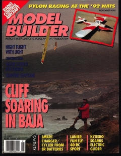 MB-1992-11-NOV model airplane plan
