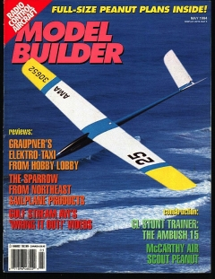 MB-1994-05-MAY model airplane plan