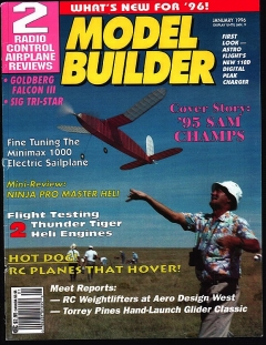 Model Builder 1996-01-JAN model airplane plan