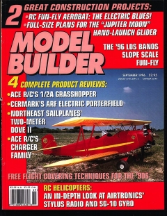 Model Builder 1996-09-SEP model airplane plan
