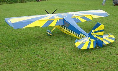 Bellanca Decathlon 96 inchAeroFred - Free Model Airplane Plans