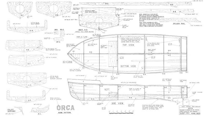 ORCA Plans - AeroFred - Download Free Model Airplane Plans