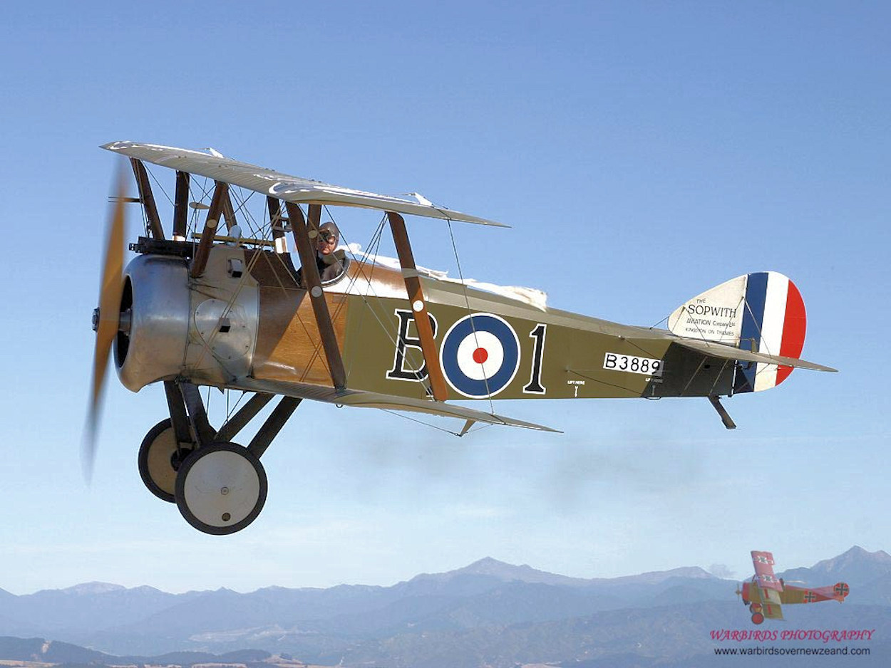 Sopwith Camel Plans - AeroFred - Download Free Model Airplane Plans