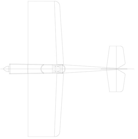 Stuntflyer 300 model airplane plan