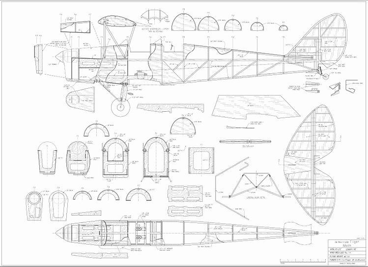 tiger moth 48 electric plans aerofred download free. Black Bedroom Furniture Sets. Home Design Ideas