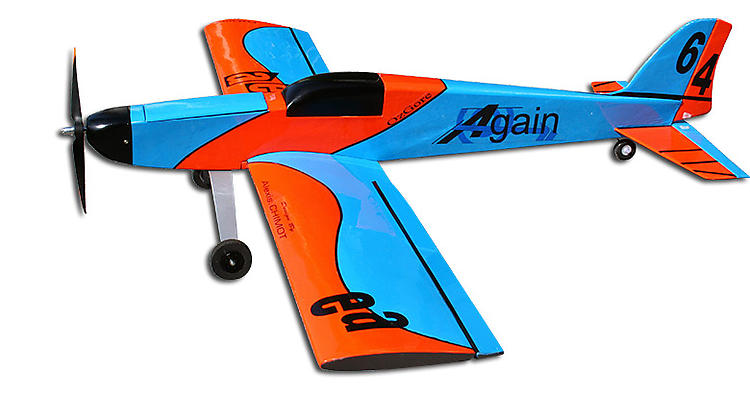 AGAIN model airplane plan