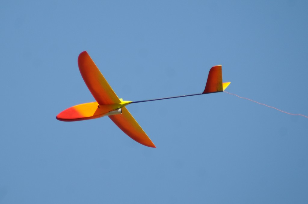 RocketGlider model airplane plan