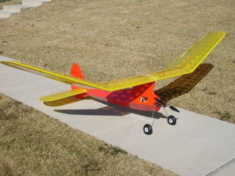 1938 Lanzo Bomber model airplane plan