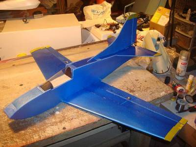 Blu Angel Baby model airplane plan