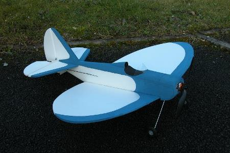 Fly Baby Dart model airplane plan