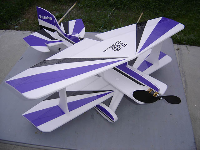 Foame IIX 3D model airplane plan