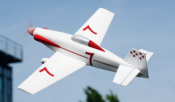 Cosmic Wind model airplane plan