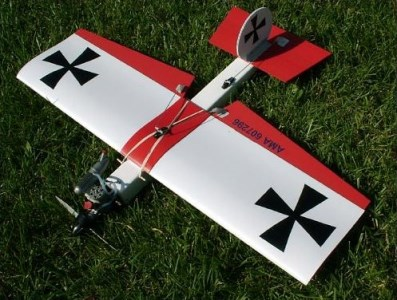 Dogfighter model airplane plan