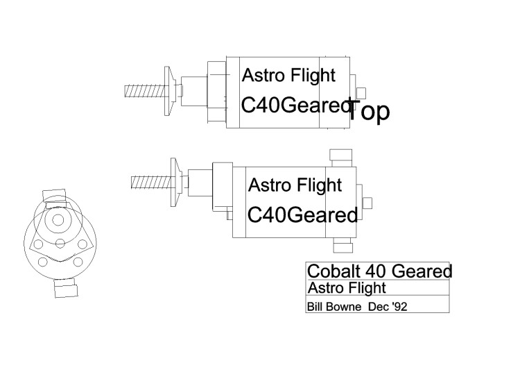 c40g1 model airplane plan