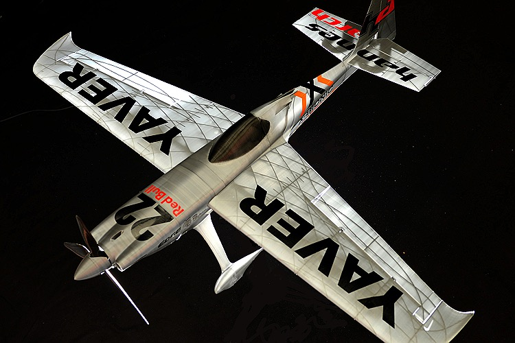 Zivko EDGE Hannes Arch (Scaled up) model airplane plan