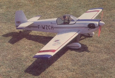 Cap 21 model airplane plan