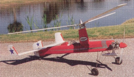 Giro V Sport Autogyro model airplane plan