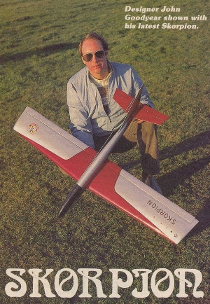 Skorpion model airplane plan