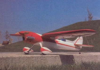 Gull Wing model airplane plan