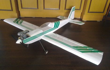 Calmato Sport 40 model airplane plan