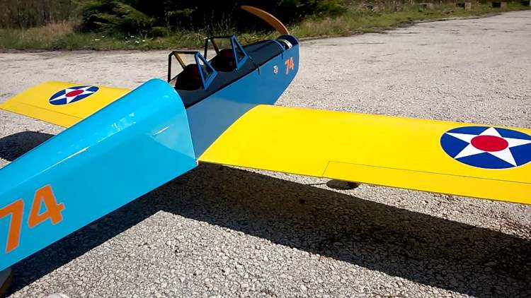 HB1 big scale model airplane plan
