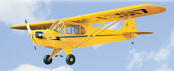 Piper J-3 Cub model airplane plan