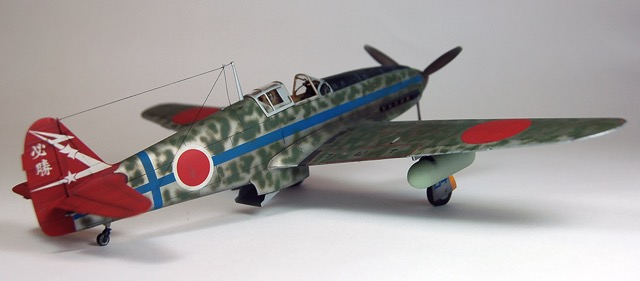 Kawasaki Ki 61 Hien model airplane plan