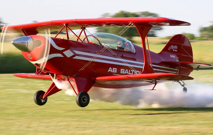 Pitts S2A 2 model airplane plan