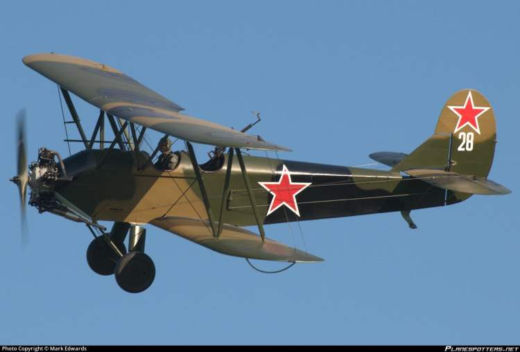 Polikarpov Po2 model airplane plan