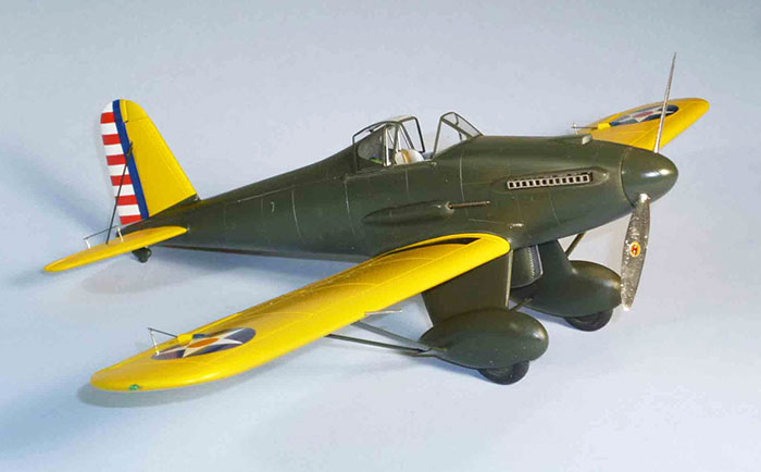 Xp-31 model airplane plan