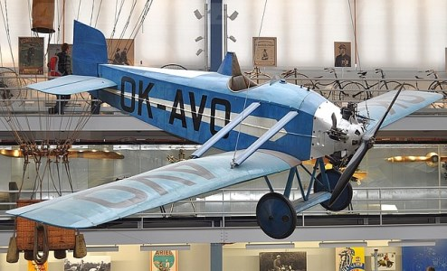 Avia BH 10 model airplane plan