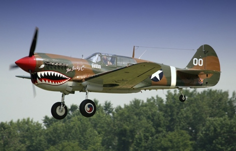 Curtiss P 40 model airplane plan