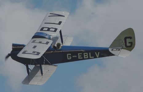 D.H 60 Moth model airplane plan