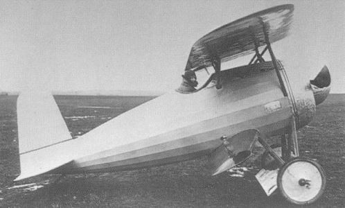 Fokker V-1 model airplane plan
