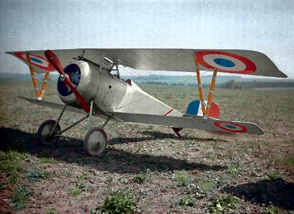 Nieuport 17 model airplane plan