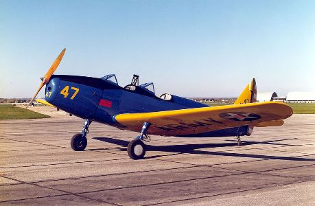 PT-19A Cornell model airplane plan
