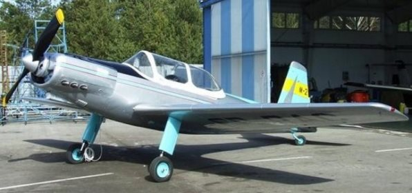 PZL M 2 model airplane plan
