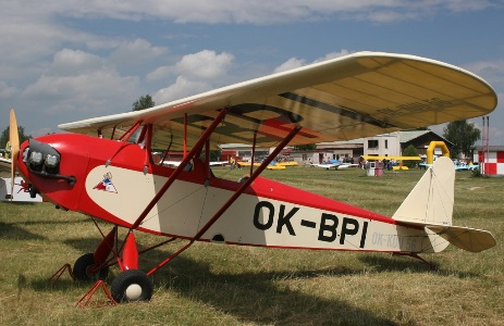 Racek PB-6 model airplane plan