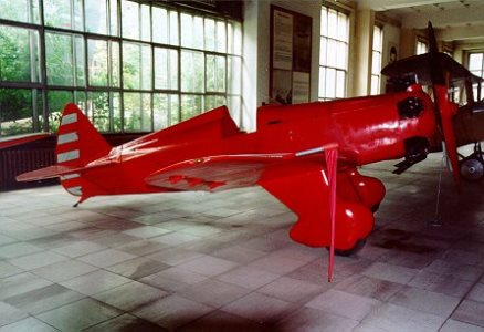 Yakovlev UT 1 model airplane plan