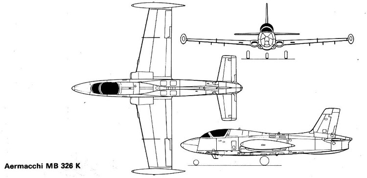 aermacchi 326k 2 model airplane plan