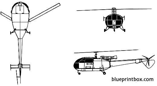 aerospatiale sa 319 alouette iii plans aerofred download free rh aerofred com