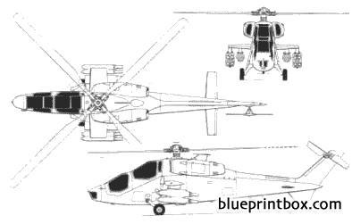 agusta a129a model airplane plan